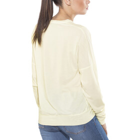 Icebreaker Mira T-shirt manches longues à col ras-du-cou Femme, snow